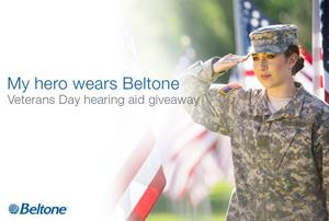 Beltone Veterans Day Hearing Aid