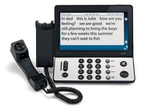 Caption Call Phone
