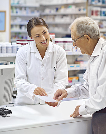 Patient with Pharmacist