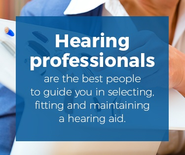 hearing professional