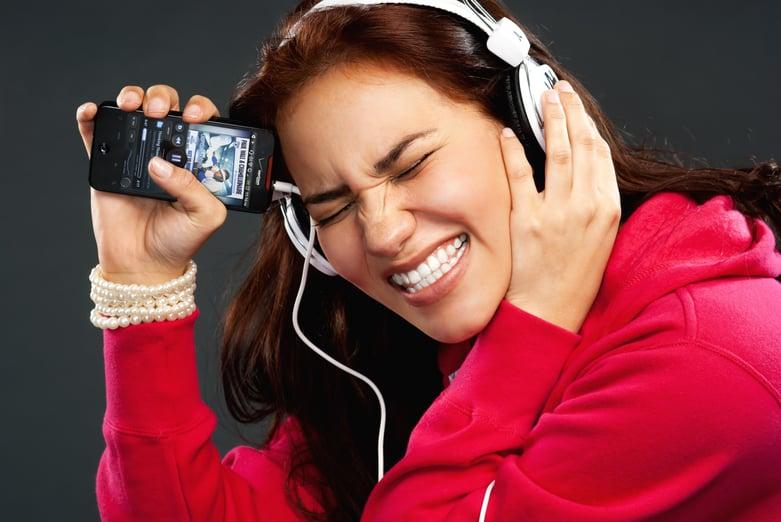 loud headphones